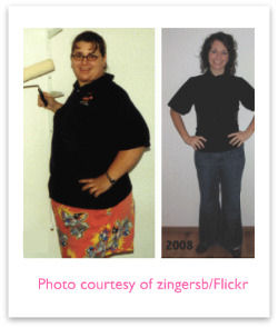 Weight loss story - before and after