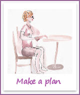 Make a plan to lose weight