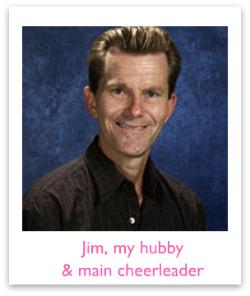 My husband Jim
