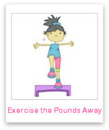 Use exercises to lose weight & get rid of your fat!