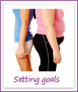 Setting realistic goals for losing weight is key to success