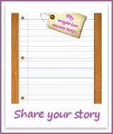Share your weight loss story with us